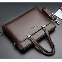 男包商务包男士手提包公文包横款单肩包斜挎包电脑包背包