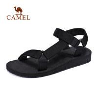 camel 骆驼户外沙滩鞋休闲时尚舒适自然凉鞋春夏男款沙滩鞋