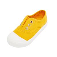 【3件2.5折到手价:37.25】美特斯邦威旗下moomoo童装幼童鞋女夏季小宝宝一脚蹬帆布鞋男童