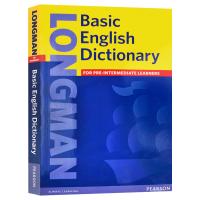 朗文基础英语词典 英文原版 Longman Basic English Dictionary 英文版 图解词典 英语词