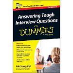 【预订】Answering Tough Interview Questions for Dummies97