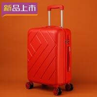2018大红色结婚箱子行李箱皮箱拉杆箱女万向轮新娘婚庆陪嫁箱子结婚用 红色单只款 20寸