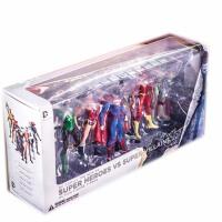 正义联盟蝙蝠侠超人海王绿灯侠闪电侠神奇女侠玩具模型人偶 高约18厘米