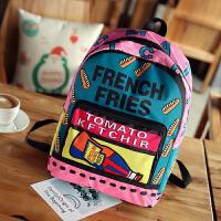 时尚小学生韩版潮轻便儿童双肩包女孩男童中大童书包休闲旅游背包