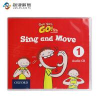 牛津大学出版社Get set go3-6岁幼儿英语sing and move Audio CD 1