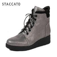 STACCATO/思加图冬季专柜同款牛皮女靴9B410DD6