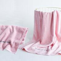 毛巾纯棉洗脸家用柔软吸水全棉男女运动情侣毛巾一对装 75x35cm