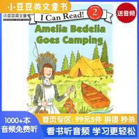 #原版进口Amelia Bedelia Goes Camping[4-8岁]
