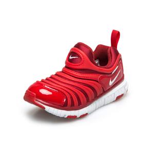 耐克(Nike)儿童鞋毛毛虫童鞋舒适运动休闲鞋343738-621 红色 中大童