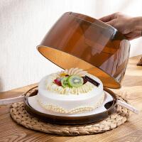 便携式8寸蛋糕盒烘焙手提包装盒 烘培工具点心盒10寸生日蛋糕盒子
