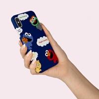 小米8手机壳mix2s硬max情侣note男米9红米NOTE7女款MIX3芝麻街