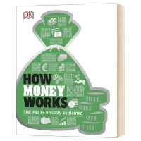 DK 财富百科 英文原版 How Money Works 金融经济理财 知识图解百科 英文版原版书籍 精装进口英语书
