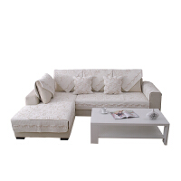 沙发垫布艺坐垫四季通用防滑夏季欧式简约实木沙发套巾罩