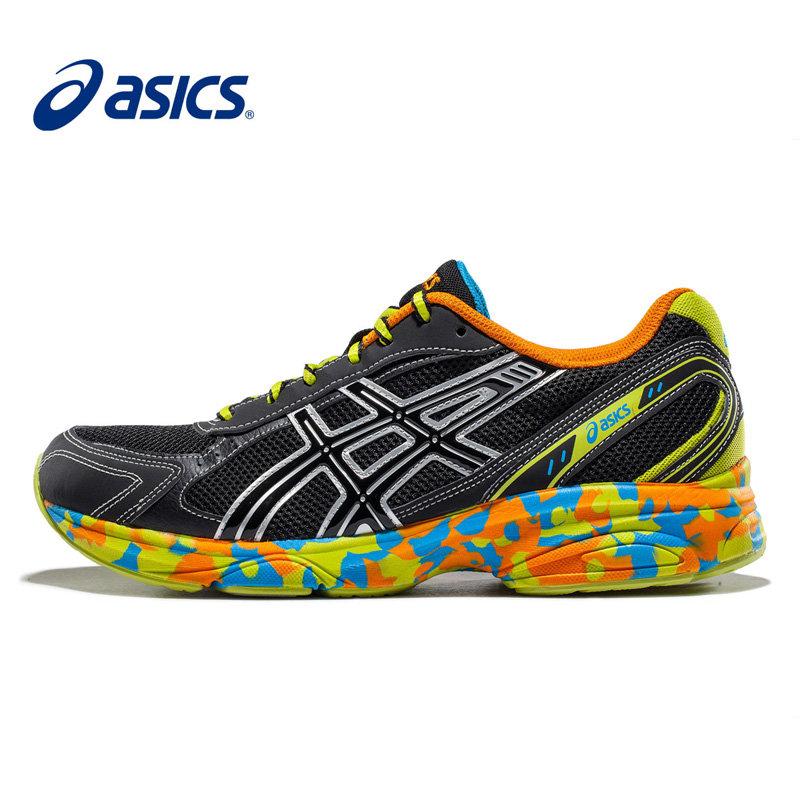 ASICS亚瑟士缓冲跑步鞋透气跑鞋迷彩运动鞋MAVERICK男