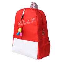 订制3-6儿童幼儿园书包小学生休闲双肩背包广告定做LOGO印字批发