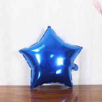 18寸五角星铝膜球 店庆晚会年会装饰布置结婚庆生日派对铝膜气球