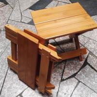 【限时7折】楠竹小板凳小方凳子圆凳靠背椅实木质折叠椅子矮凳儿童餐椅凳时尚