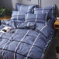 冬季加厚磨毛四件套1.8m床上用品网红床单三件套学生宿舍单人床男