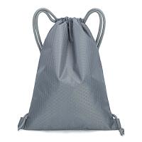 束口袋抽绳双肩包收纳袋子男运动户外旅行防水折叠背包