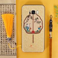 buer创意延禧攻略中国风三星s8plus小米6x一加6女个性手机壳s9+潮