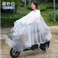 踏板车爱玛电动车雨披透明电瓶车摩托车雨衣韩国电动摩托车