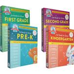 (300减100)Get Ready for School Second Grade 幼儿园综合活动家庭启蒙教育教辅4