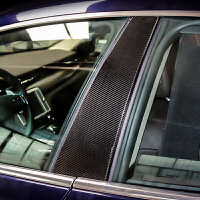 专用于玛莎拉蒂总裁改装 碳纤维BC中柱立柱 ghibl吉博力总裁改装装饰配件