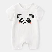 初生婴儿衣服夏天宝宝哈衣夏女一岁3个月新生儿纯棉连体衣男夏装