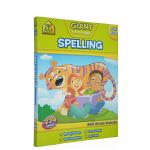 【6-9岁拼写练习】School Zone Giant Workbook Spelling 家庭学生练习册 附答案 英