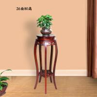 实木木质花架中式仿古绿萝室内客厅多层圆形榆木盆景吊兰花盆欧式