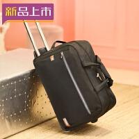 2018旅行包女手提拉杆包大容量带轮子行李包旅行袋待产包防水可折叠潮