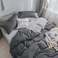 简约日式1.5m米被套床笠床上用品床单三件套