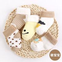 婴儿袜子春秋冬季加厚新生儿宝宝袜儿童初生0-1-3岁6-12个月yly