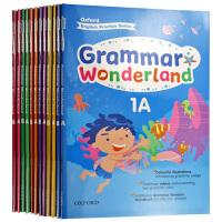 牛津小学英语语法练习册1-6年级 英文原版 Oxford Grammar Wonderland 12册 英文版 正版进