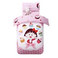 20180824095708082指向标 幼儿园被子三件套全棉儿童被褥纯棉被套 宝宝婴儿床品套件