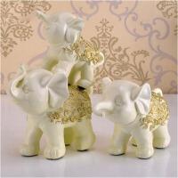 创意欧式家居饰品摆设工艺品结婚礼物母子三连象吉祥三宝摆件