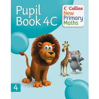 【预订】Collins New Primary Maths. 4C, Pupil Book 9780007220397