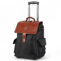 可双肩背大容量拉杆包 纯旅行箱 多功能手提行李包拉杆登机箱