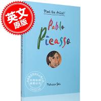 现货 遇到艺术家:巴勃罗・毕加索 英文原版 Pablo Picasso ( Meet the Artist ) 超现实