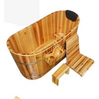 泡澡木桶洗澡沐浴洗浴桶盆家用药浴缸浴盆实木质澡盆浴桶