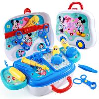 迪士尼儿童医生玩具套装小护士打针厨房化妆台工具箱男女孩过家家