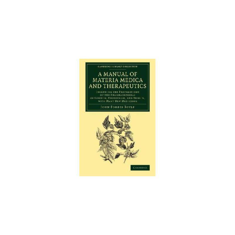 【预订】A   Manual of Materia Medica and Therapeutics: Including the Preparations of the Pharmacopoieas  美国库房发货,通常付款后3-5周到货!
