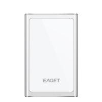 移动硬盘 G90金属移动硬盘1t usb3.0高速薄加密时尚1tb移动硬盘1000g 银色 官方标配