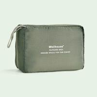 旅行洗漱包男士便携防水女士化妆包出差旅游用品收纳袋大容量 中号 军绿色