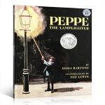 【顺丰速运】英文原版绘本 凯迪克 点灯人比柏 Peppe the Lamplighter 灯夫皮普 凯迪克银奖 梦想