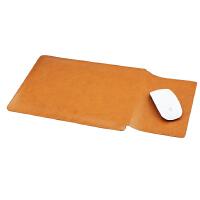 三星笔记本电脑包NP900X5L内胆包 保护套15.6英寸皮套 轻薄防水袋 鼠标款 黄棕1件 15.6英寸