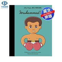 英文原版 小男孩,大梦想:穆罕默德・阿里 Mohammed Ali 名人传记 Little People, Big Dr