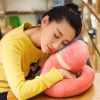 卡通办公室抱枕午睡枕趴睡枕睡觉学生午休枕可爱靠垫靠枕午睡枕头