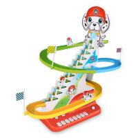 小猪爬楼梯儿童电动轨道车批发抖音社会人同款玩具3-7岁