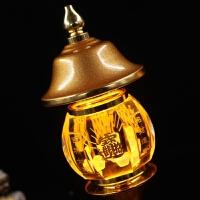 佛台灯水晶LED财神灯进宝供灯八方进财财神供灯长明灯供佛灯